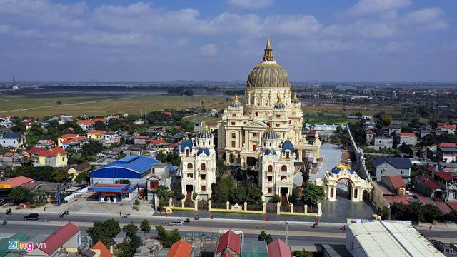 Lâu đài Thành Thắng của đại gia Gia Viễn, Ninh Bình - Ảnh 3.